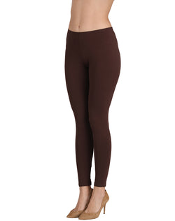 Ankle Length Leggings Combo of 3(Red , White, Coffee)