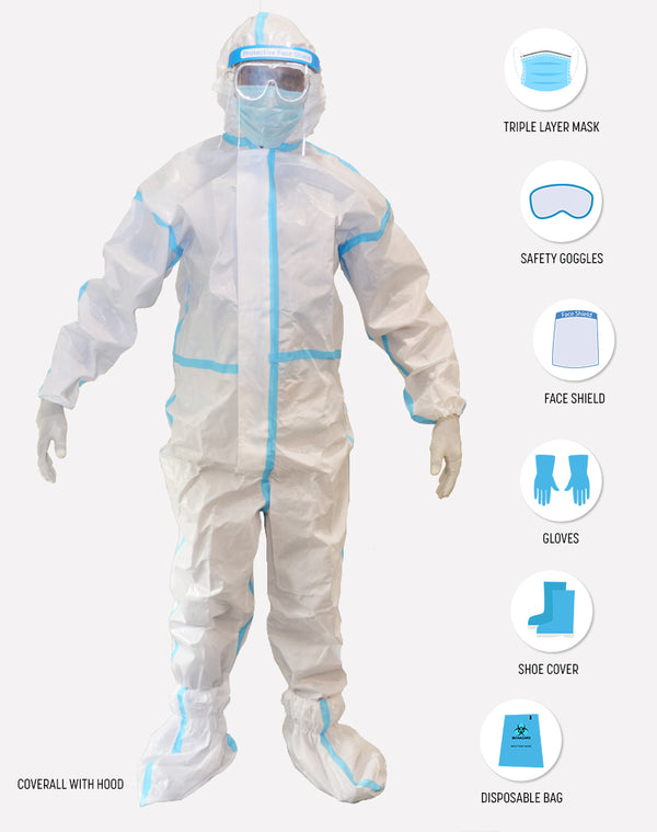 Personal Protective Equipment Kit (Single)