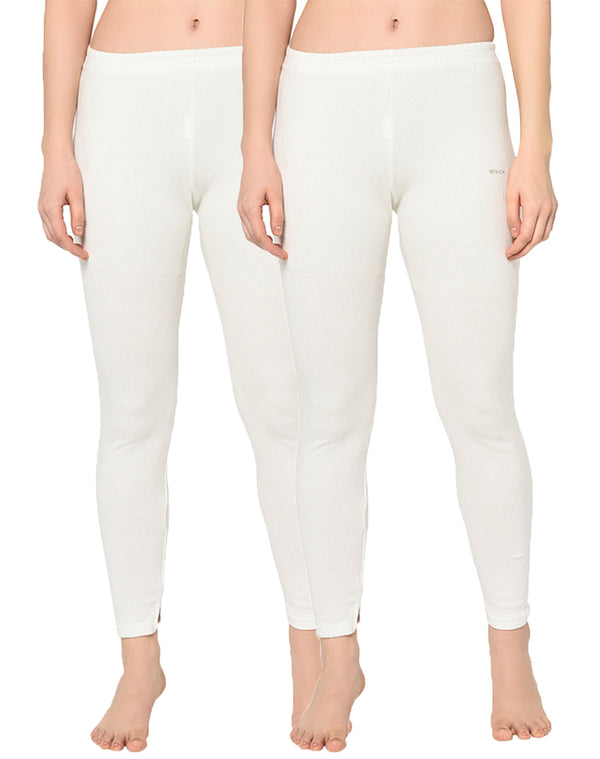 WINTA WOMEN PEARL FULL LENGTH THERMAL PANT - PACK OF 2
