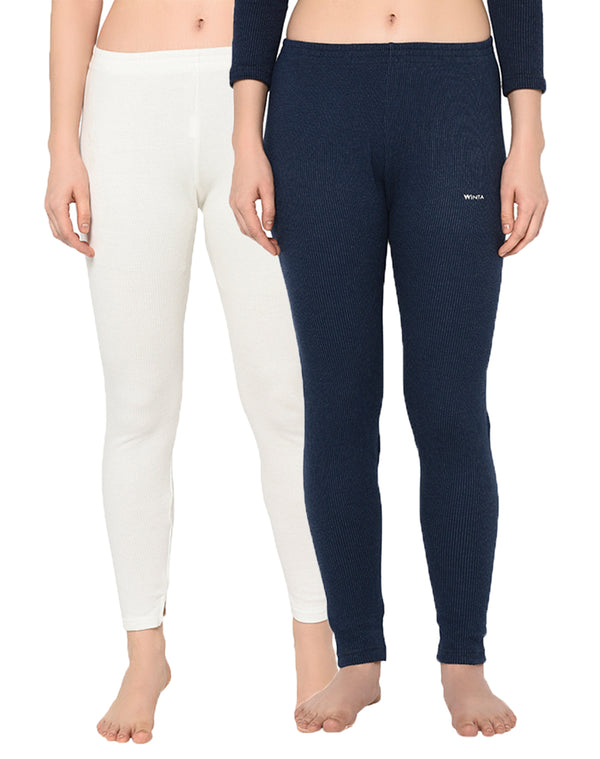 WINTA WOMEN FULL LENGTH THERMAL PANT - PACK OF 2