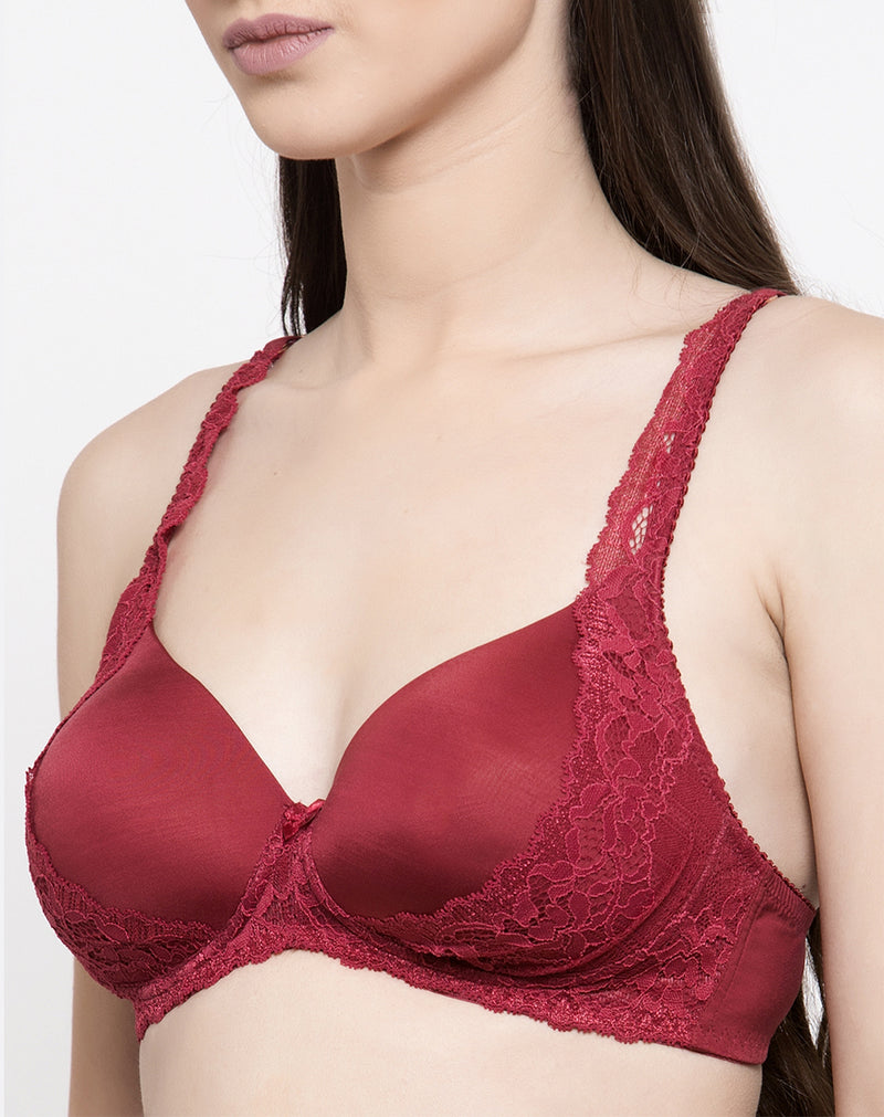 bra with lace