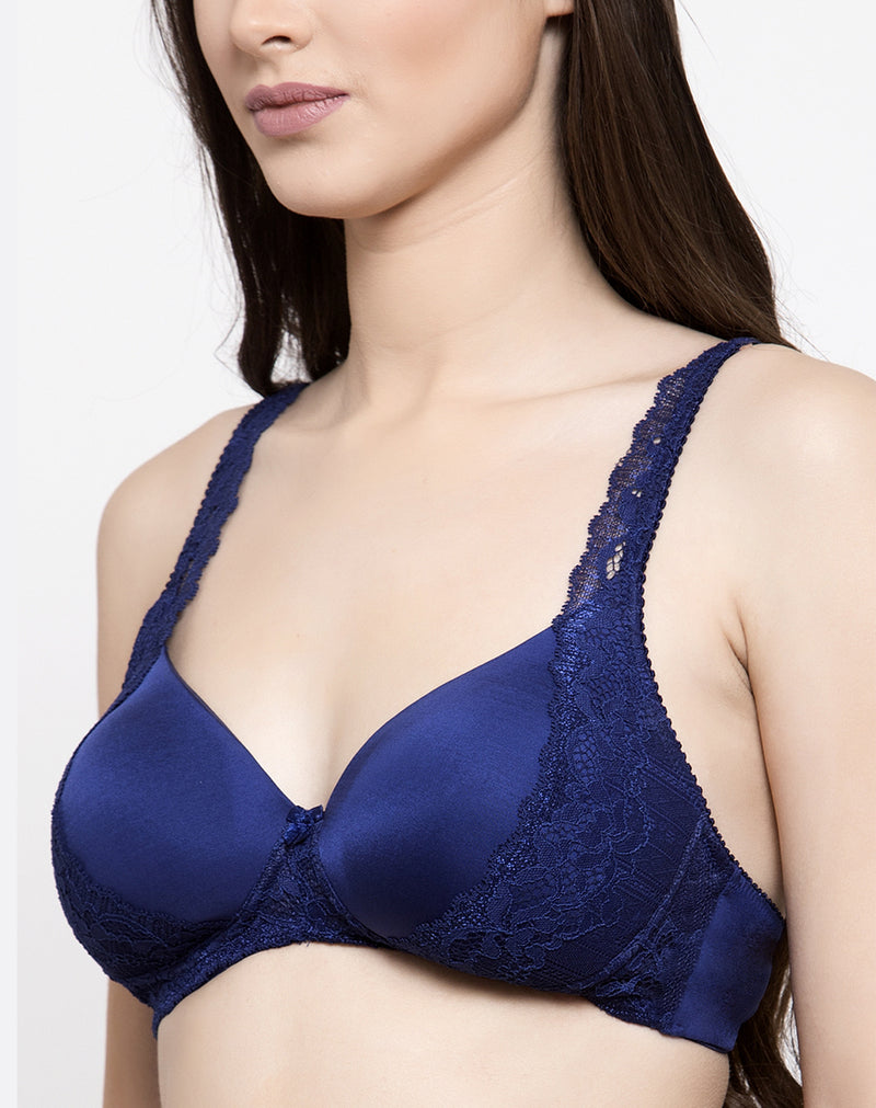 non wired lace bra