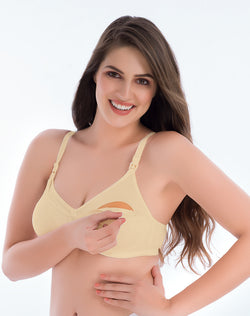 Groversons Paris Beauty Nursing Bra- Skin