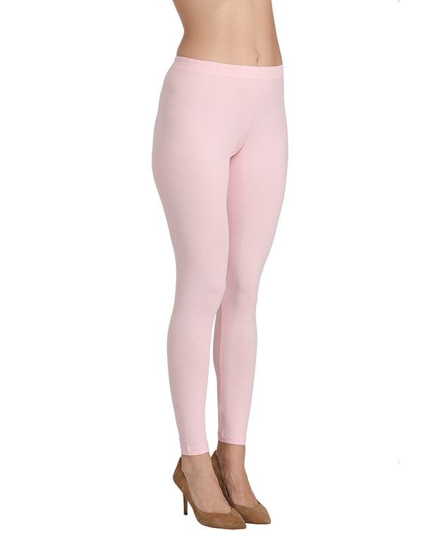 Bottom wear Ankle length Pink