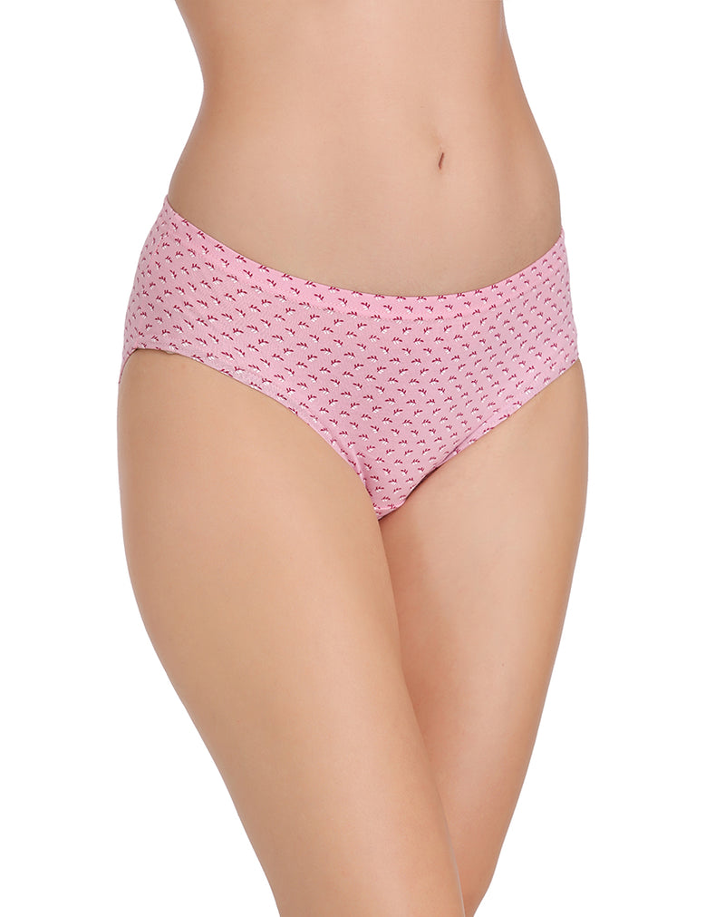 Light Color Rear Coverage Printed Panties(Pack of 3)