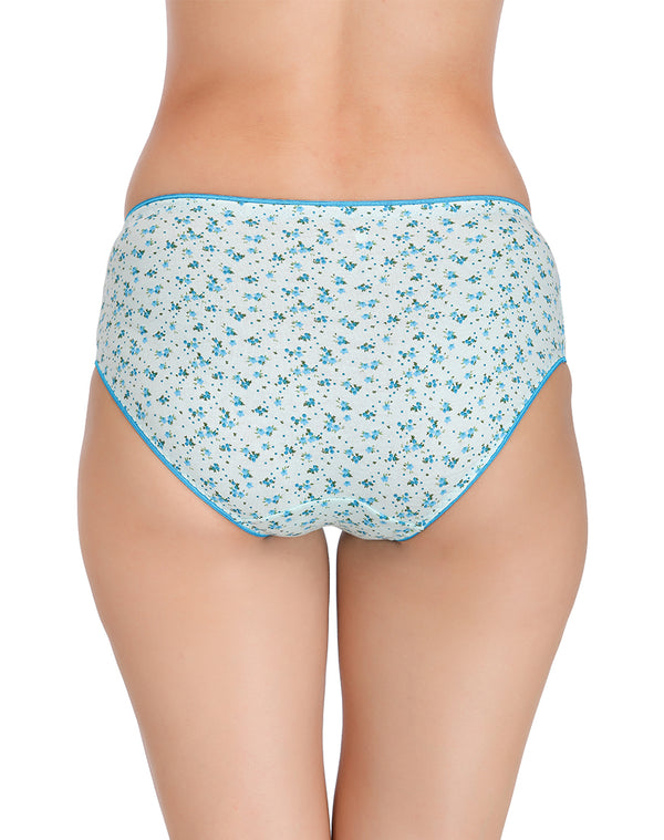 Floral print panties in light colors(Pack of 3)