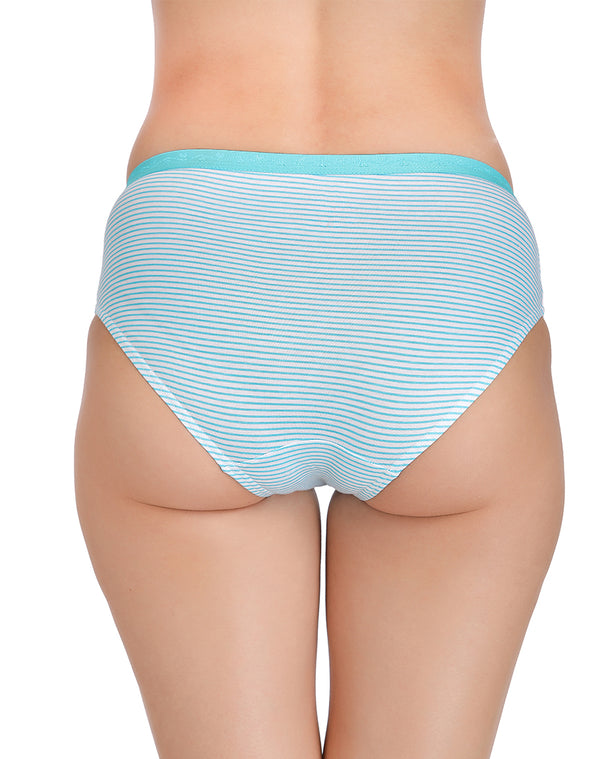 Assorted regular cotton panties(Pack of 3)