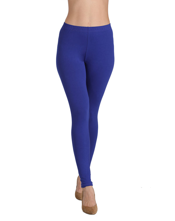 Royal Blue ankle length leggings