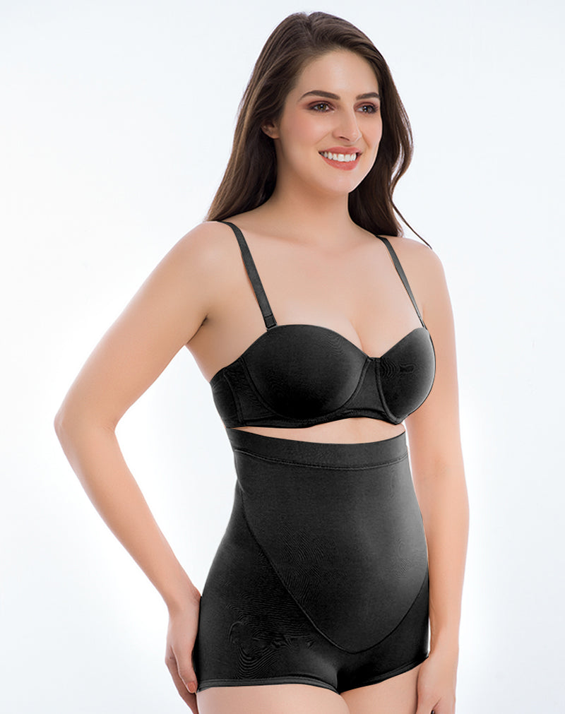 Medium Control Highwaist Shaper Shapewear-Black