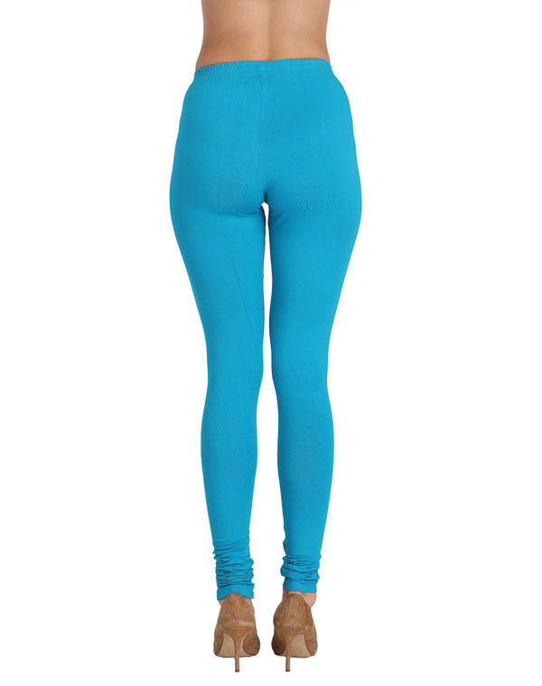 blue leggings for college girls