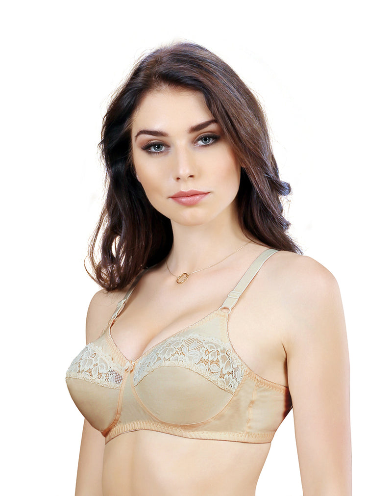 Non Padded Wirefree Full Coverage Bra –Black