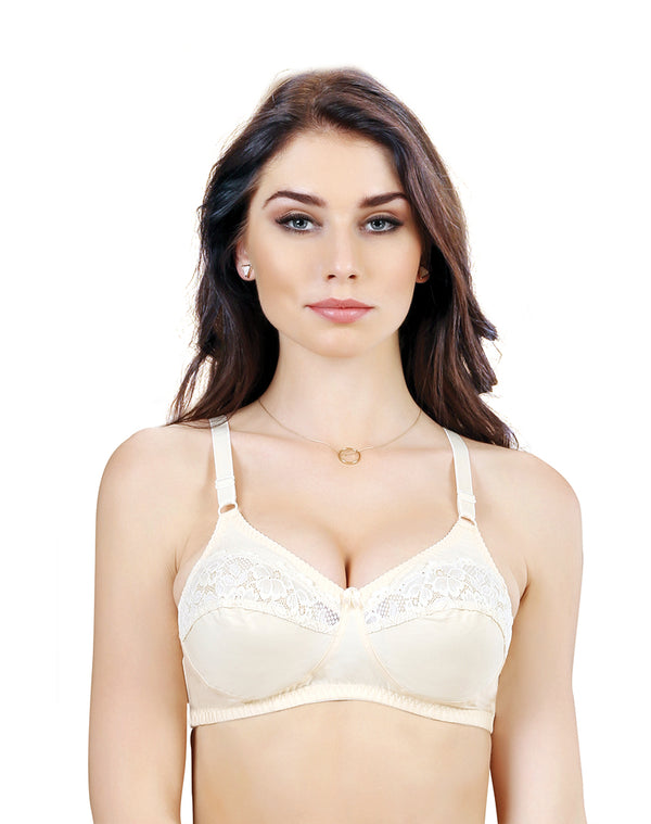 Non Padded Wirefree Full Coverage Bra – Skin