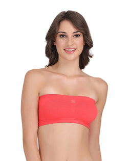 Groversons Paris Beauty Tube bra Coral