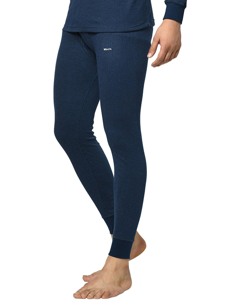 Mens Premium Thermal Lower Pants - Navy