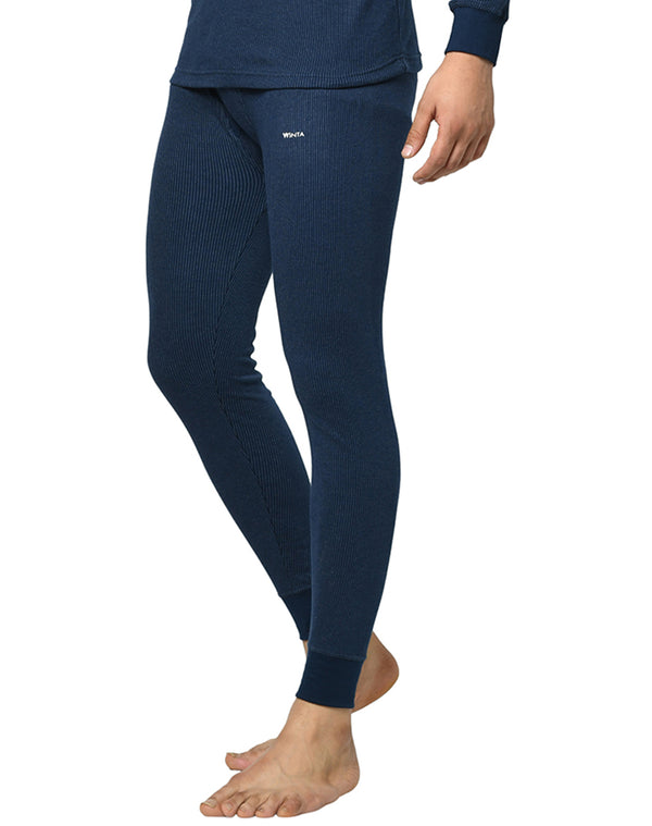 WINTA MEN'S FULL LENGTH THERMAL PANT - PACK OF 2(NAVY & WHITE)