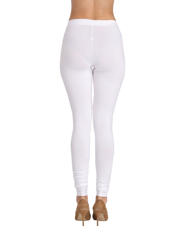 churidar white leggings