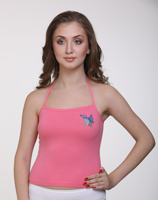 Paris Beauty Butterfly Camisole Top