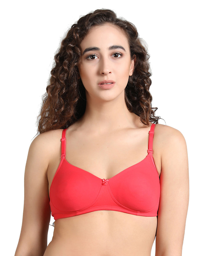 lightly padded t- shirt bra