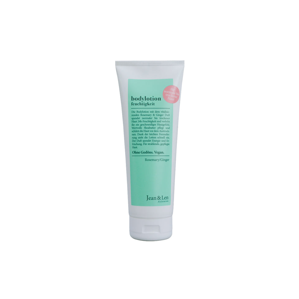 Jean & Len - Bodylotion Feuchtigkeit Rosemary/Ginger 250ml