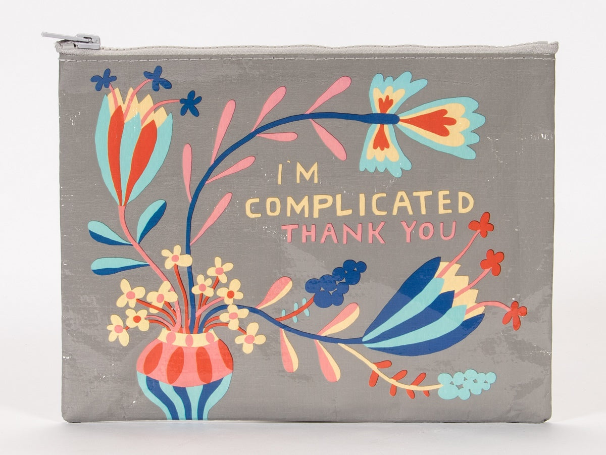 Blue Q Etui - I'm complicated Thank you