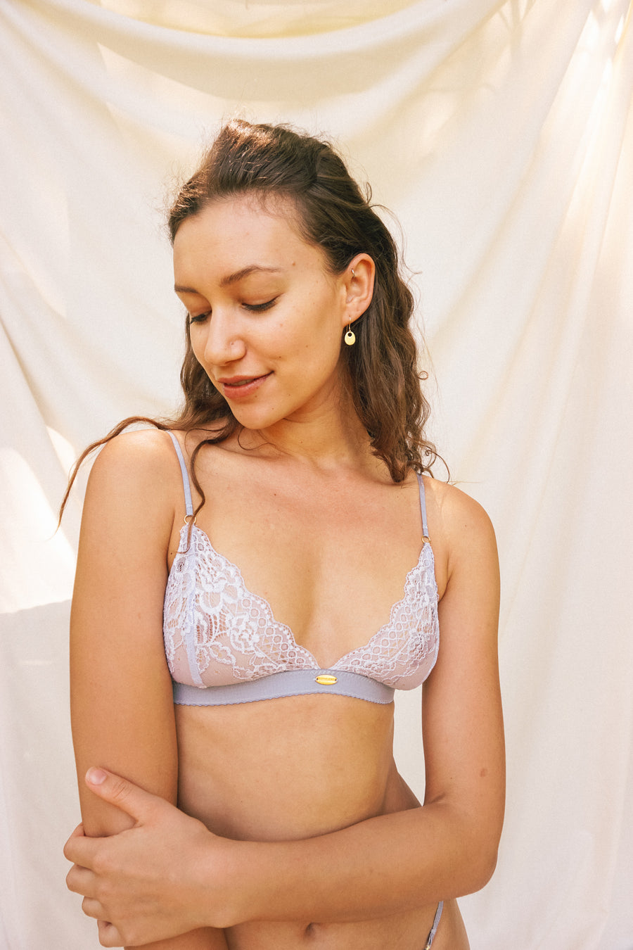 Pebble Triangle Bralette