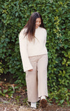Vanilla Latte Wide Legged Pants