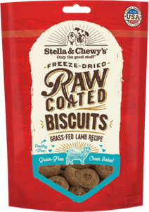 Stella & Chewy's Raw Coated Kibble Biscuits Grass Fed