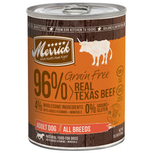 Load image into Gallery viewer, Merrick Grain Free 96% Recipe 12.7 oz