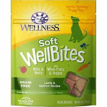 Load image into Gallery viewer, Wellness Natural Grain Free Wellbites Soft Dog Treats 6oz