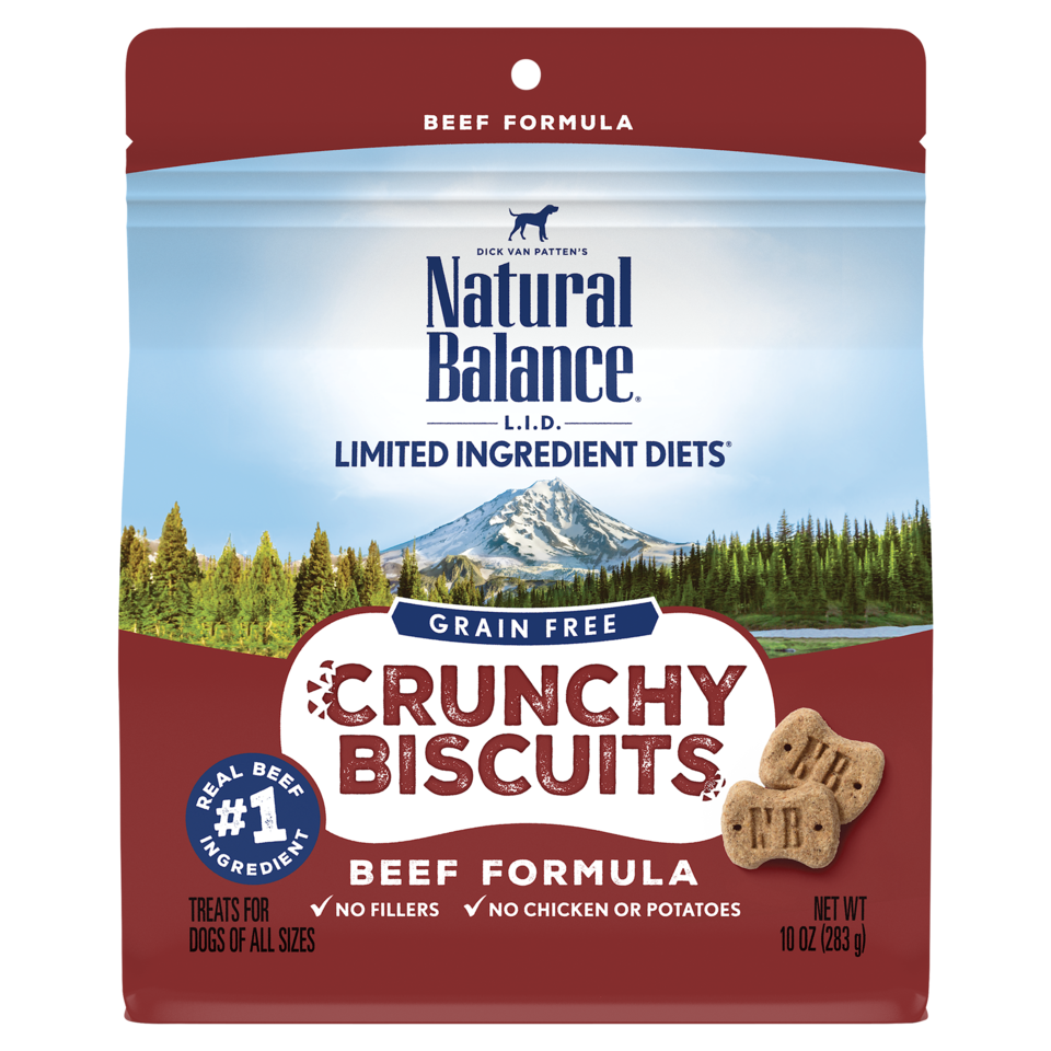 Natural Balance LID Grain Free Crunchy Biscuits 10oz
