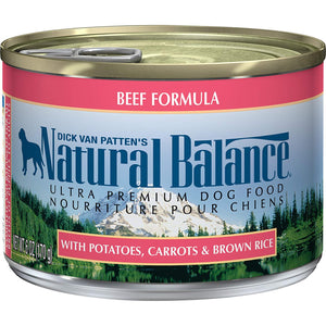 Natural Balance Ultra Premium Formula Canned Dog Food