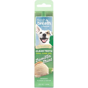 Fresh Breath by TropiClean Clean Teeth Oral Care Gel For Dogs 2oz