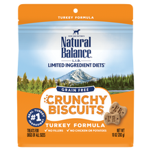 Load image into Gallery viewer, Natural Balance LID Grain Free Crunchy Biscuits 10oz