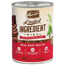 Load image into Gallery viewer, Merrick Limited Ingrediet Diet Adult Dog Food - Natural, Grain Free  12.7oz