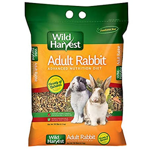 Wild Harvest Advanced Nutrition Diet for Adult Rabbits, 8 lbs.