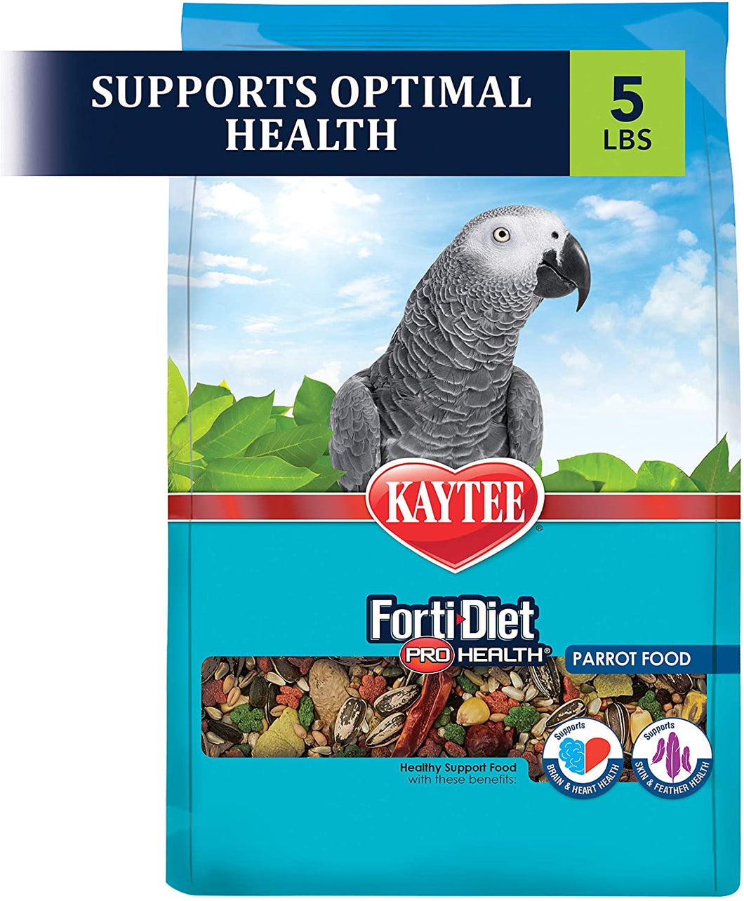 Kaytee Forti-Diet Pro Health Parrot Bird Food
