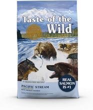 Load image into Gallery viewer, Taste of the Wild High Protein, Real Fish, Premium Dry Dog Food with Real Salmon, Superfoods, Probiotics and Antioxidants
