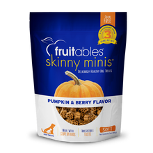 Load image into Gallery viewer, Fruitables Skinny Minis 7 Flavor Soft & Chewy Dog Treats, 5-oz bag