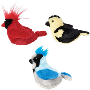 Song Birds Catnip Cat Toy with Sound