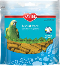 Load image into Gallery viewer, Kaytee Forti-Diet Pro Health Biscuit Parrot Treat 10oz