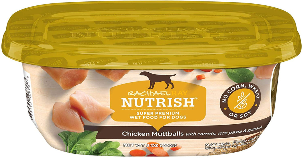 Rachael Ray Nutrish Natural Wet Dog Food, 8 oz