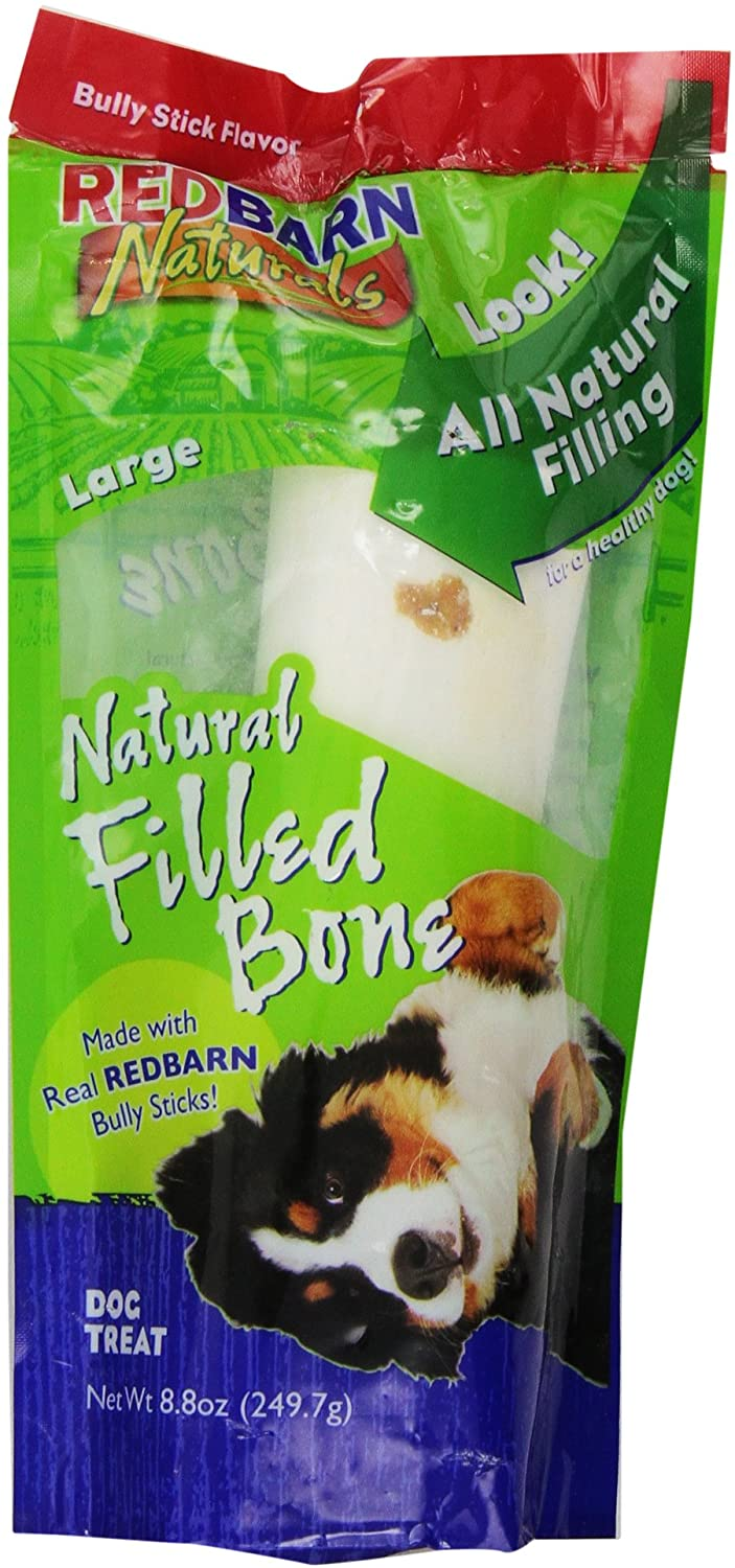 Red Barn Natural Filled Bone Large Bully Flavor