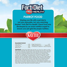 Load image into Gallery viewer, Kaytee Forti-Diet Pro Health Parrot Bird Food