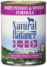 Load image into Gallery viewer, Natural Balance L.I.D Formula Canned Dog Food 13oz