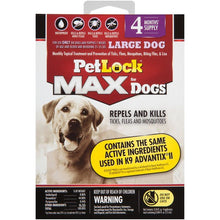 Load image into Gallery viewer, PETLOCK MAX DOG 4CT