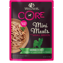 Load image into Gallery viewer, Wellness CORE Natural Grain Free Small Breed Mini Meals 3oz