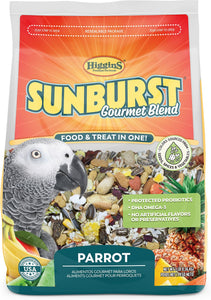 Higgins Sunburst Gourmet Blend Parrot Food, 3lb
