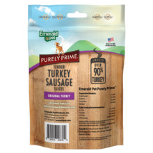Load image into Gallery viewer, Emerald Pet Purely Prime Tender Turkey Sausage Slices