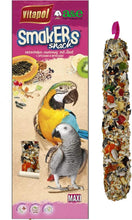 Load image into Gallery viewer, A&E Vitapol Smakers Parrot Maxi Treat Stick Nut-2pk