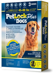 PETLOCK + SECURITY DOG - 3 DOSES